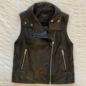 Mackage for Aritzia leather vest
